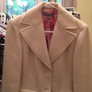 Wool textures blazer